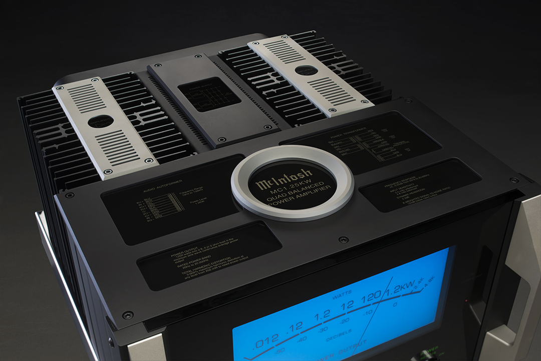 McIntosh drops 1,200 watt amp: MC1 25KW Quad Balanced Power