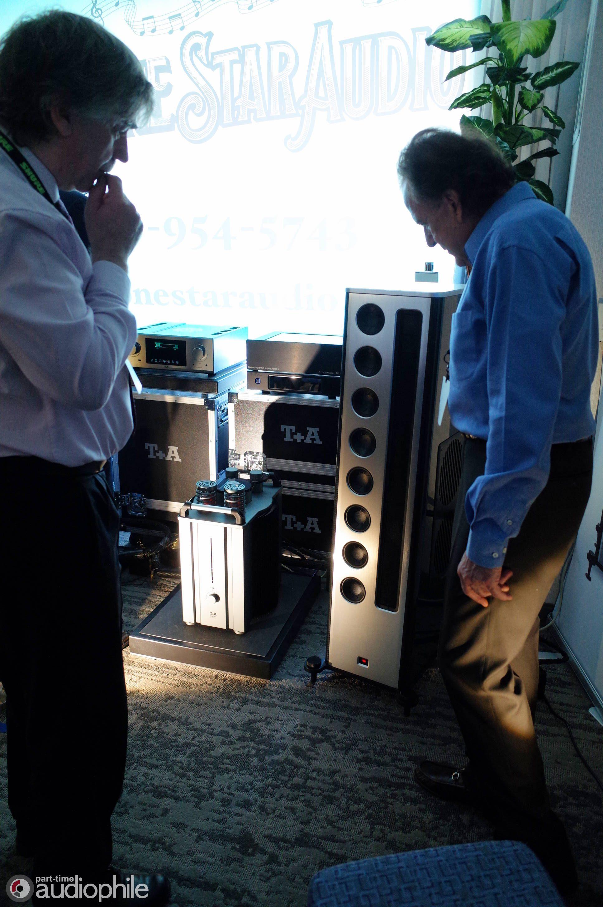 Lonestar Audio, T+A Elektroakustik, and Synergistic Research