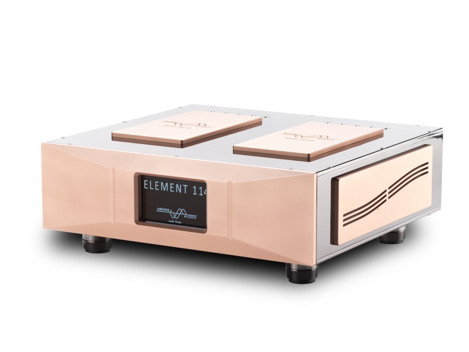 Merrill Audio introduces 114, new Gallium Nitride amp